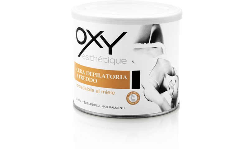 Water-soluble depilatory wax